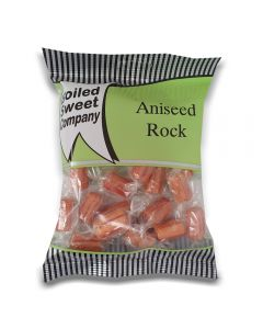 A full case of wholesale sweets, Aniseed rock prepacked sweets bags