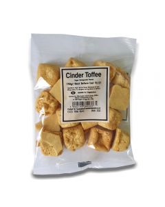A full case of wholesale sweets, Cinder Toffee bumper bags, prepacked sweets bags