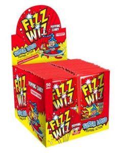 Fizz Wiz Strawberry x 50