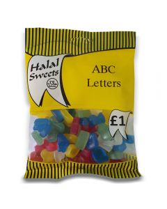 Halal ABC Jelly Letters 150g x 12