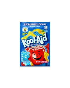 A full case of American Kool Aid drinks, blue raspberry flavour