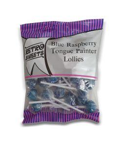 Blue Raspberry Tongue Painter Lollies 160g x 12
