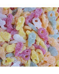 Vegan and vegetarian fizzy dummies bulk sweets