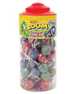 Vidal Assorted Tongue Painter Zoom Lollies x 50